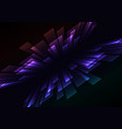 multicolor overlap stripe rush in dark background vector image