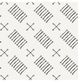 seamless texture of hand-drawn lines with vector image