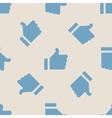 Vintage symbol like seamless pattern vector image vector image