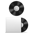Vinyl record vector image vector image