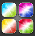 Abstract backgrounds with for the app icons vector image
