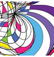 abstract drawing background vector image vector image