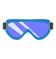 chemical glasses icon flat style vector image