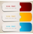 Colorful bookmarks with place for text vector | Price: 1 Credit (USD $1)