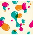 Colors bubbles pattern vector image vector image