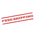 Free Shipping Watermark Stamp vector image