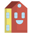 happy house or color vector image