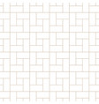 seamless geometric outline simple pattern vector image