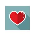 heart icon love symbol valentine day vector image vector image