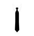 Necktie vector image vector image