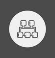network icon sign symbol vector image vector image