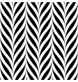 seamless floral pattern weave striped vector image vector image