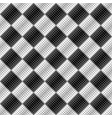 seamless square pattern background - abstract vector image vector image