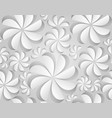 seamless texture with paper flowers vector image