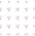 signal icon pattern seamless white background vector image vector image