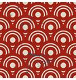 Vintage geometric seamless pattern repeat vector image vector image