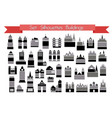 icons set of real vector image