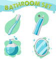 Bathroom Symbol icon set A vector image vector image