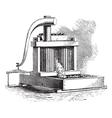 Cider Mill vintage engraving vector image