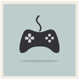 Computer Video Game Controller Joystick vector image vector image