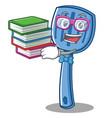 geek spatula character cartoon style vector image vector image