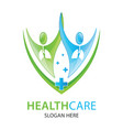 lungs care logo designs lungs clinic logo vector image