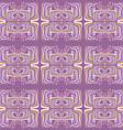 Mosaic seamless vector image vector image