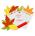 page notepad vector image vector image