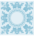 paisley boarder pattern vector image vector image