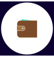 pouch computer symbol vector image vector image