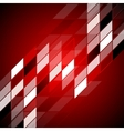 Red hi-tech abstract design vector image vector image