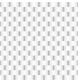 white weave rectangle abstract background vector image