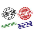 damaged textured royalty free seal stamps vector image