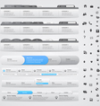 Navigation menu bars vector | Price: 1 Credit (USD $1)