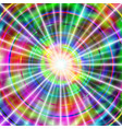 rays on a vivid backdrop vector image vector image