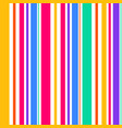 abstract seamless rainbow color stripes line vector image vector image