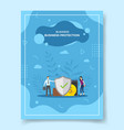 business protection people around shield wallet vector image vector image