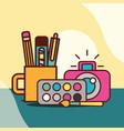 graphic design concept vector image