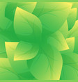 green leaf background beautiful leaves texture vector image vector image