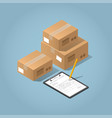 package delivery vector image vector image