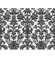 Seamless floral damask background vector image vector image