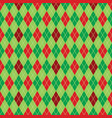 argyle christmas paper background pattern vector image vector image