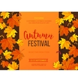 autumn festival background invitation banner