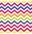 colorful chevron seamless pattern vector image vector image