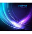 elegant waves vector image vector image