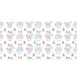 new year pattern with a bull ox symbol 2021 vector image vector image