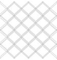 seamless black and white pattern with contour vector image