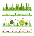 composition green wood on white background vector image vector image