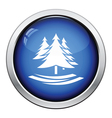 Fir forest icon vector image vector image