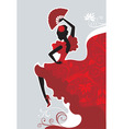 Flamenco dancer vector | Price: 3 Credits (USD $3)